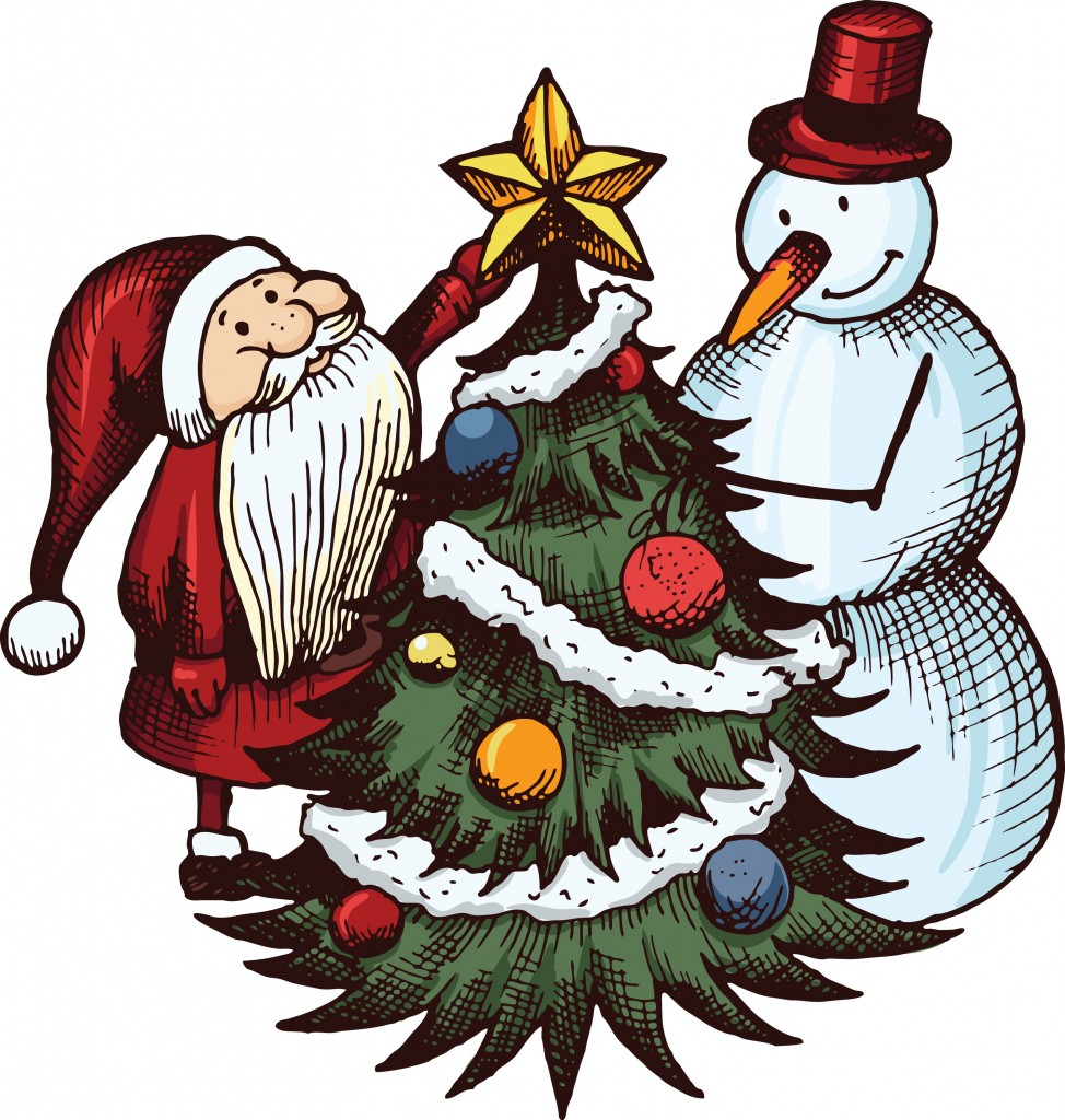 vector-santa-claus-and-snowman_z1aTFsId